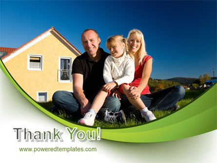 Townhouse of Happy Family PowerPoint Template Slide 20