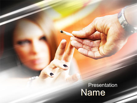 Legal: Marijuana PowerPoint Template #09958