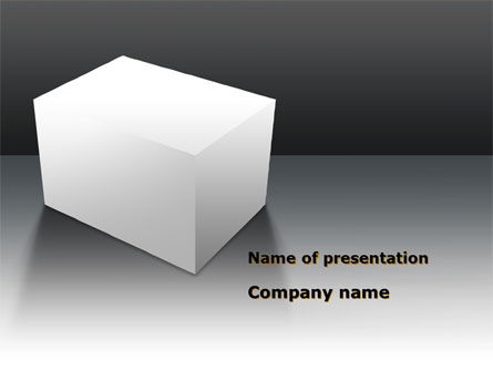 Abstract/Textures: Parallelepiped PowerPoint Template #09960
