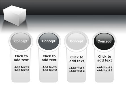 Parallelepiped PowerPoint Template Slide 5