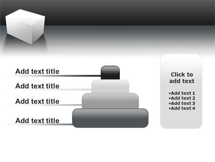 Parallelepiped PowerPoint Template Slide 8
