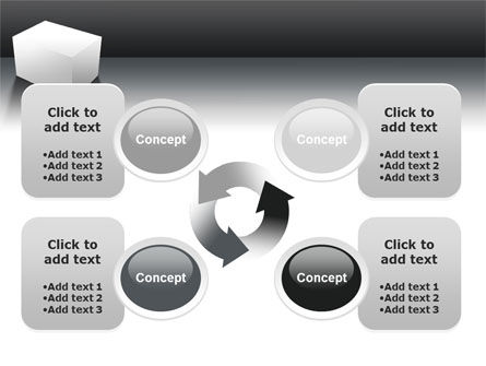 Parallelepiped PowerPoint Template Slide 9