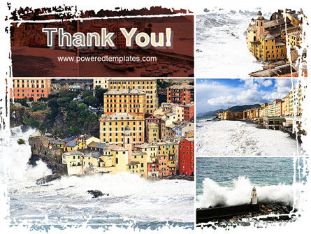 Italian Coastal Town PowerPoint Template Slide 20