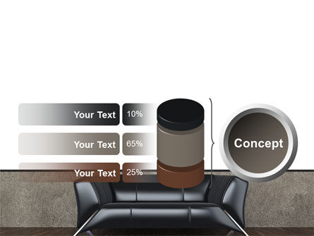 Sofa PowerPoint Template Slide 11