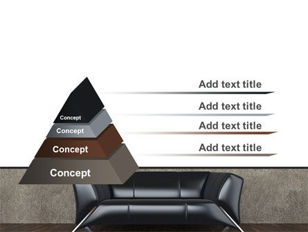 Sofa PowerPoint Template Slide 12