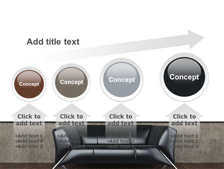 Sofa PowerPoint Template Slide 13
