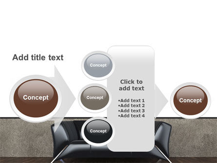 Sofa PowerPoint Template Slide 17