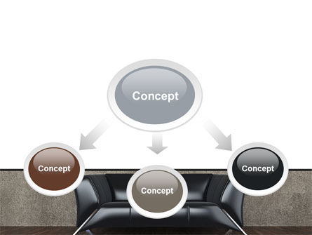 Sofa PowerPoint Template, Slide 4, 09963, Business Concepts — PoweredTemplate.com