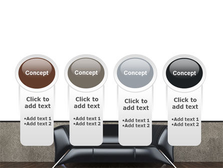 Sofa PowerPoint Template Slide 5