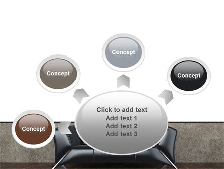 Sofa PowerPoint Template Slide 7