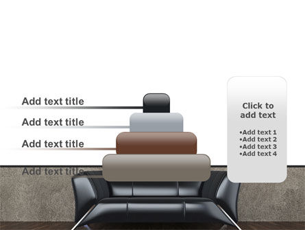 Sofa PowerPoint Template Slide 8