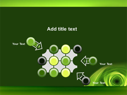 Green Whirlpool PowerPoint Template Slide 10