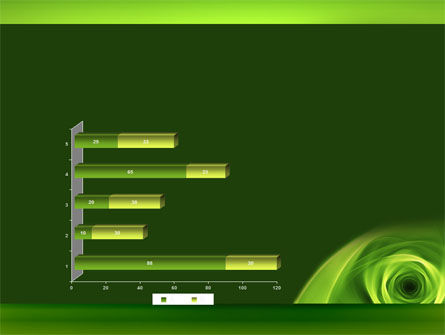 Green Whirlpool PowerPoint Template Slide 11