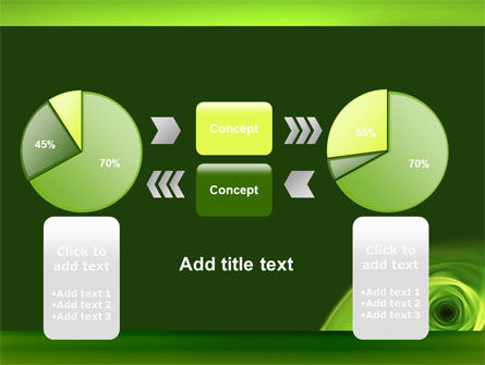 Green Whirlpool PowerPoint Template Slide 16