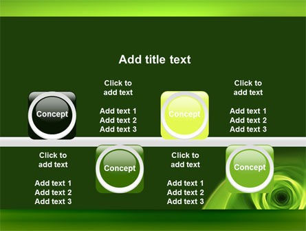 Green Whirlpool PowerPoint Template Slide 18