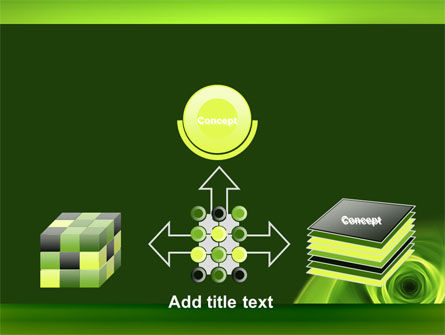 Green Whirlpool PowerPoint Template Slide 19