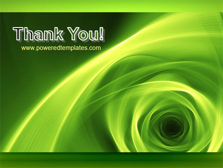 Green Whirlpool PowerPoint Template Slide 20