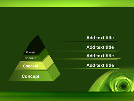 Green Whirlpool PowerPoint Template Slide 4