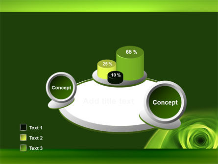 Green Whirlpool PowerPoint Template Slide 6