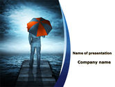 Consulting: Insurance From Worldly Issues PowerPoint Template #09965