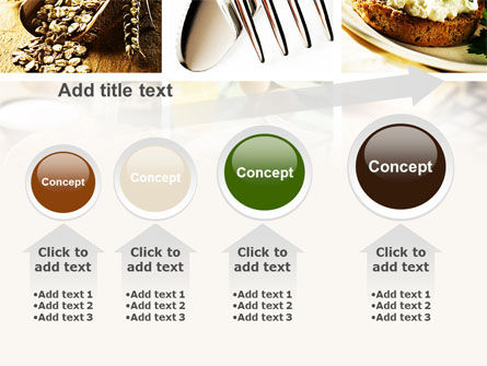 Durum Wheat Products PowerPoint Template Slide 13