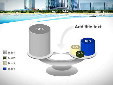 Modern Resort On A Seashore PowerPoint Template Slide 10