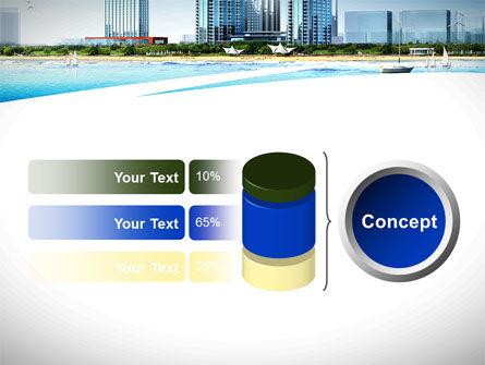 Modern Resort On A Seashore PowerPoint Template Slide 11