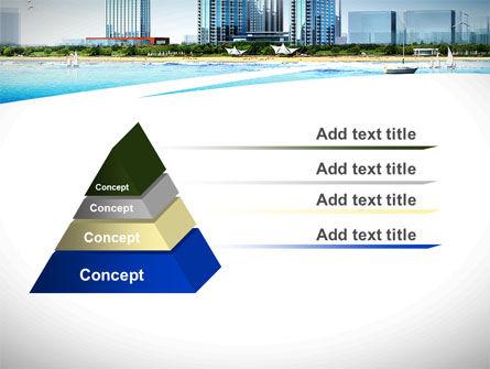 Modern Resort On A Seashore PowerPoint Template Slide 12