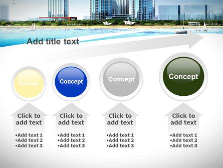 Modern Resort On A Seashore PowerPoint Template Slide 13
