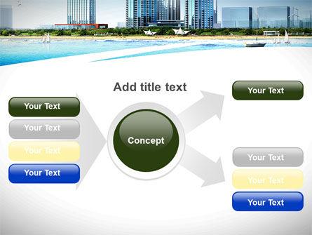 Modern Resort On A Seashore PowerPoint Template Slide 14
