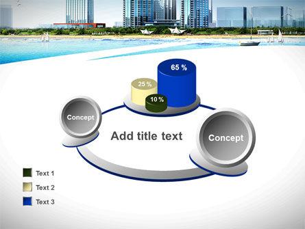 Modern Resort On A Seashore PowerPoint Template Slide 16