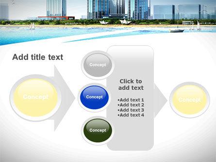 Modern Resort On A Seashore PowerPoint Template Slide 17