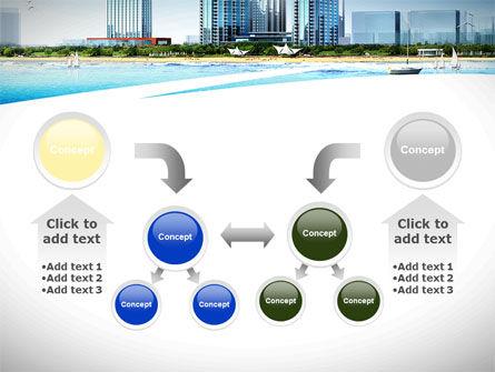 Modern Resort On A Seashore PowerPoint Template Slide 19