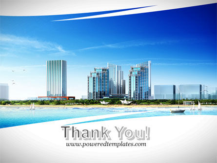 Modern Resort On A Seashore PowerPoint Template Slide 20