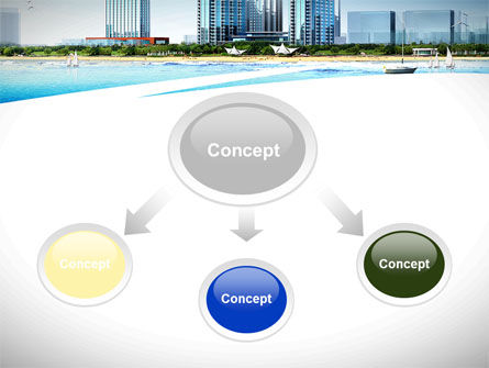Modern Resort On A Seashore PowerPoint Template Slide 4