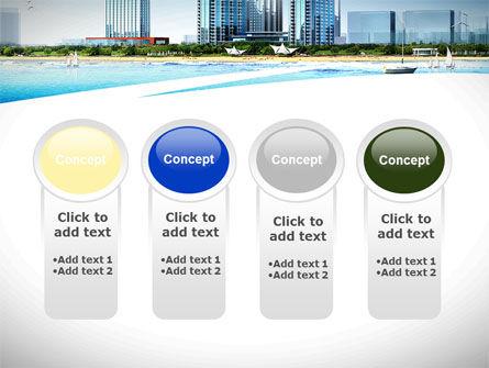 Modern Resort On A Seashore PowerPoint Template Slide 5