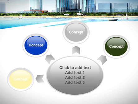 Modern Resort On A Seashore PowerPoint Template Slide 7