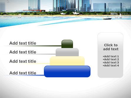 Modern Resort On A Seashore PowerPoint Template Slide 8