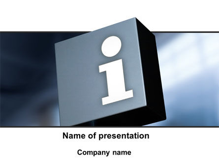 Information Box PowerPoint Template, 09969, Consulting — PoweredTemplate.com