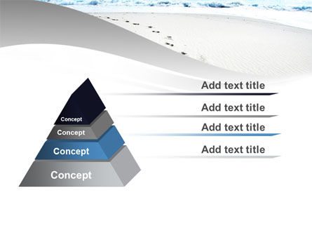 Footprints On The Dune PowerPoint Template Slide 12