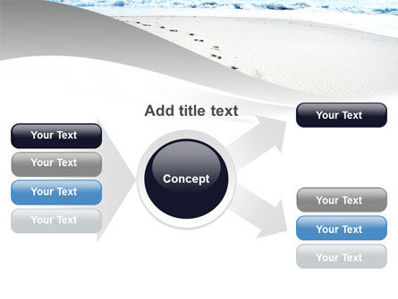 Footprints On The Dune PowerPoint Template Slide 14