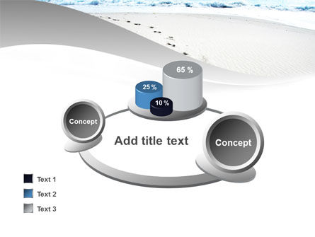 Footprints On The Dune PowerPoint Template Slide 16