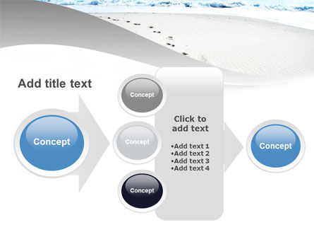 Footprints On The Dune PowerPoint Template Slide 17