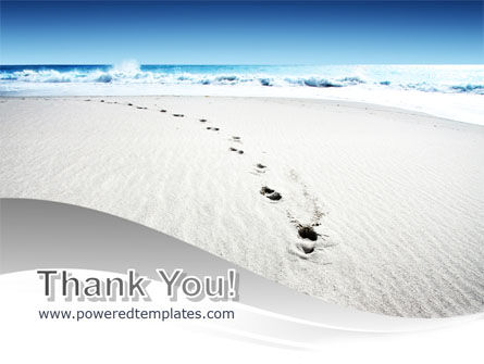 Footprints On The Dune PowerPoint Template Slide 20