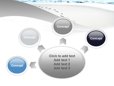 Footprints On The Dune PowerPoint Template Slide 7
