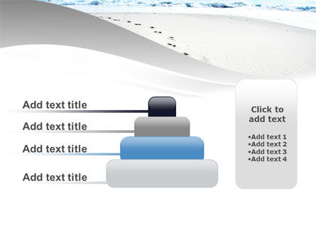 Footprints On The Dune PowerPoint Template Slide 8