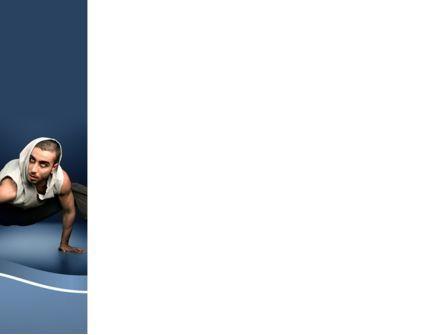 Street Dancer PowerPoint Template, Slide 3, 09974, Sports — PoweredTemplate.com