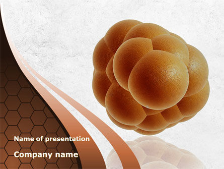 Medical: Stem Cells Division PowerPoint Template #09975