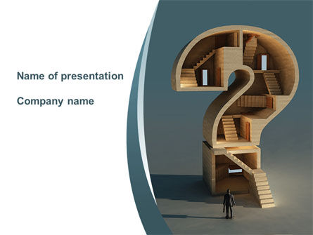 Question Mark Quest PowerPoint Template