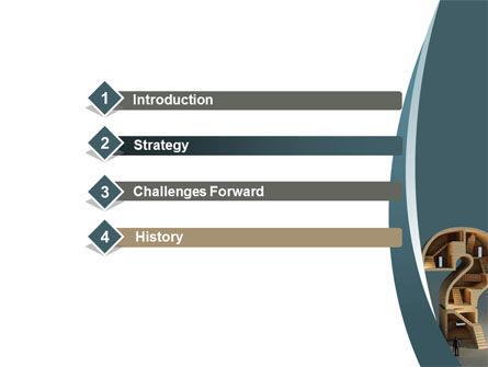 Question Mark Quest PowerPoint Template Slide 3